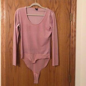 Jcrew Velvet Body Suit //